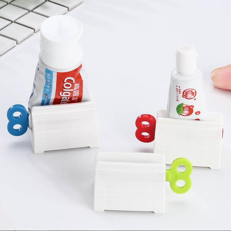 Toothpaste Device Multifunctional Toothpaste Dispenser Facial Cleanser Squeezer Clips Manual Lazy Toothpaste Tube Squeezer Press