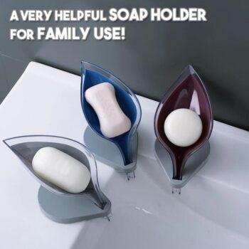 Leafology Draining Soap Holder Dish ( 2 Pcs)