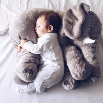Baby Giant Elephant Stuffed Animals Plush Toy Pillow
