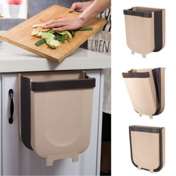 Foldable Hanging Kitchen Trash Can