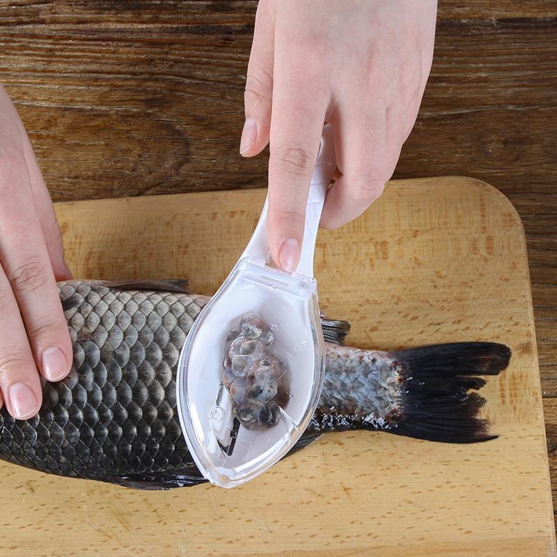 Fish Skin Scraping Scale Peeler